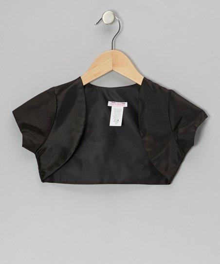 Black Shrug – Toddler & Girls