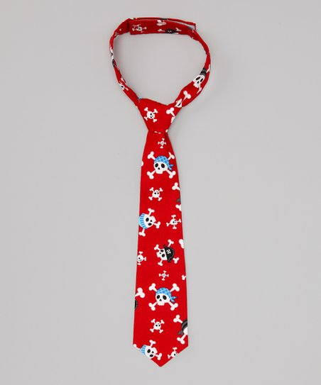 Red Pirate Tie