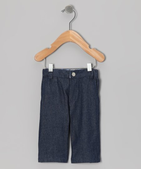 Midnight Wash Twill Shorts - Infant, Toddler & Boys