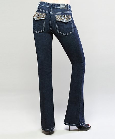 Indigo Wash Austin Bootcut Jeans