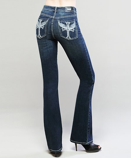 Dark Wash Sienna Bootcut Jeans