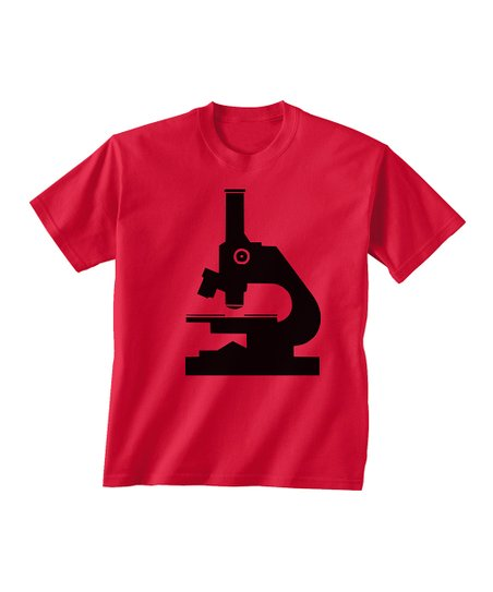 Skip N' Whistle Red Microscope Tee - Toddler & Boys