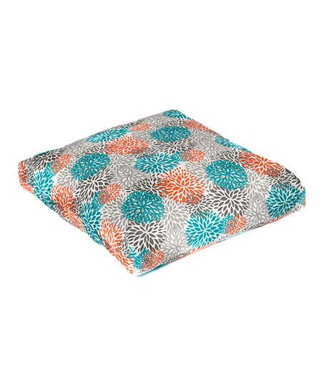 Pacific Bloom Indoor/Outdoor Floor Pillow