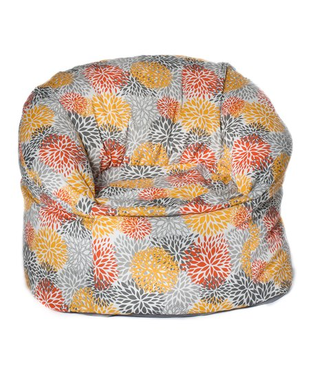 Citrus Bloom Outdoor Mushroom Chair