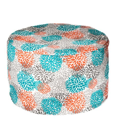 Pacific Bloom Outdoor Pouf