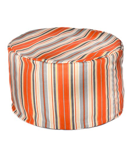 Citrus Terrace Outdoor Pouf