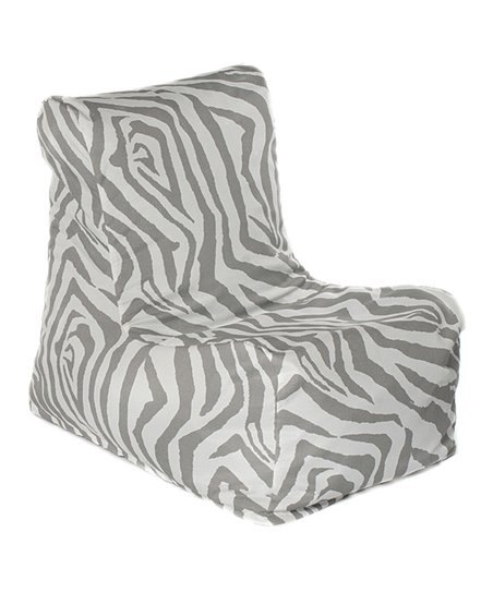 Gray Zebra Outdoor Chair