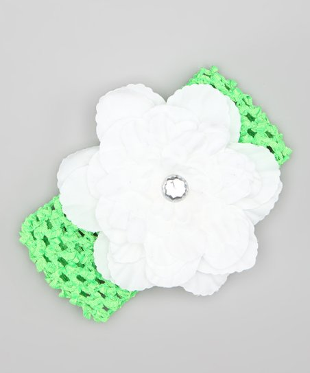 Spring Green Mum Crochet Headband