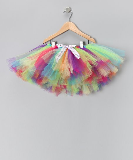 Rainbow Bow Tutu - Infant, Toddler & Girls