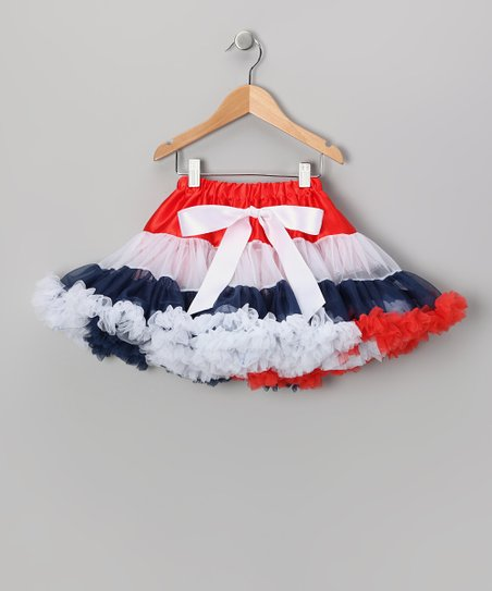 Patriotic Princess Pettiskirt - Infant, Toddler & Girls