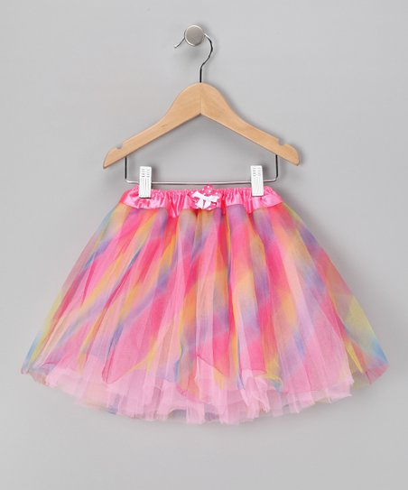 Pastel Bow Tutu - Toddler &amp; Girls
