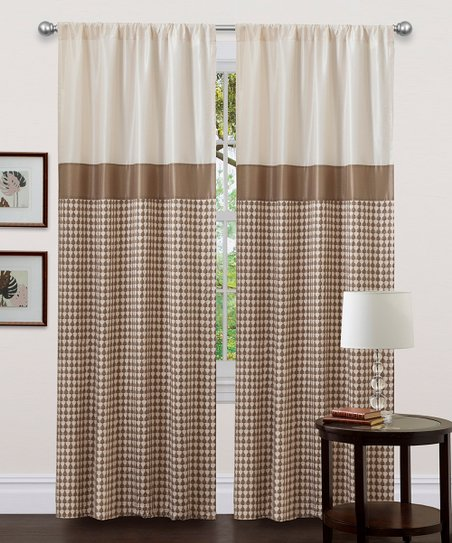 Taupe Waldorf Curtain Panel