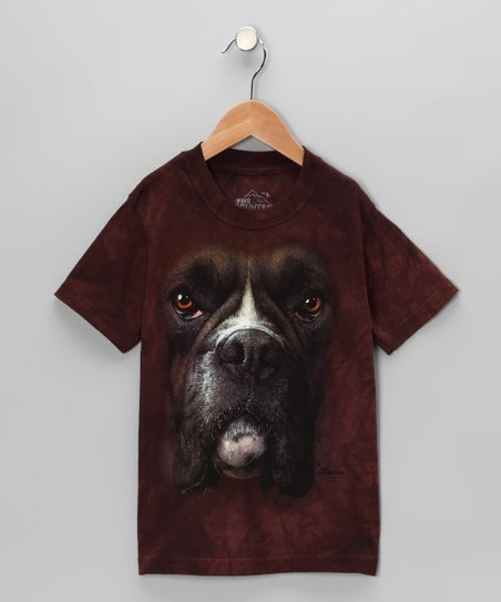Brown Boxer Tee - Toddler & Kids
