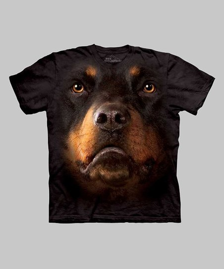 Black Rottweiler Tee - Toddler & Kids