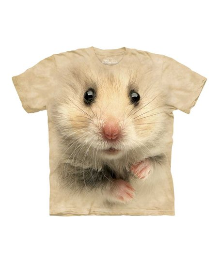 Tan Hamster Face Tee - Toddler, Kids, Adult & Plus