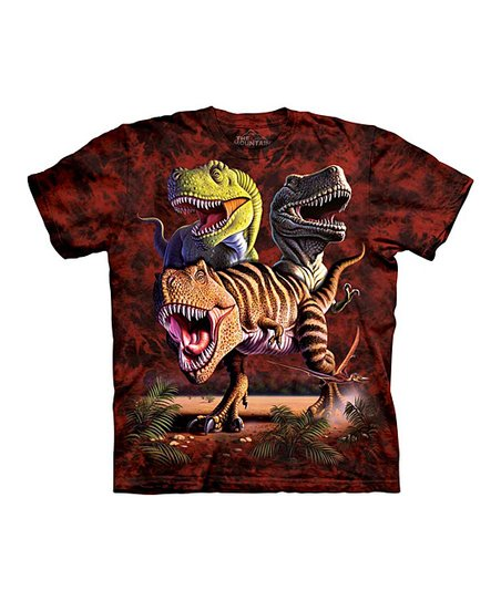 Red Rex Collage Tee - Toddler & Boys
