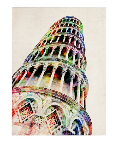 Leaning Tower of Pisa Gallery-Wrapped Canvas