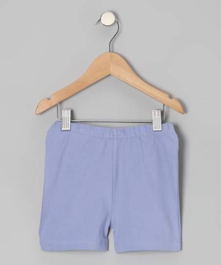 Persian Violet Shorts - Toddler & Girls