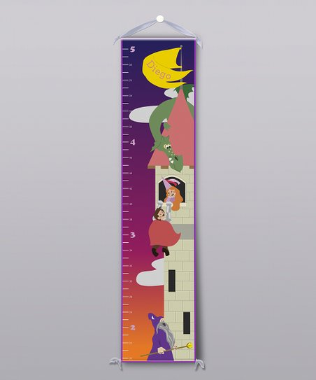 Castle Knight Personalized Growth Chart