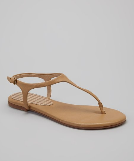 Caramel Leather Nappa Mason Sandal