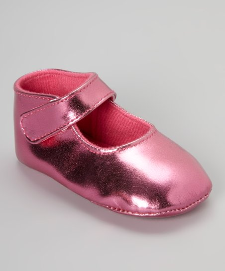 Fuchsia Metallic Mary Jane