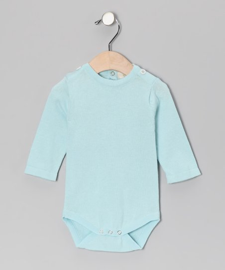 Little Bird Blue Organic Bodysuit - Infant