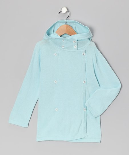Little Bird Blue Organic Peacoat - Infant, Toddler & Girls