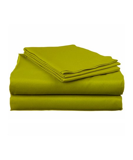 Sage Bright Microfiber Full Sheet Set