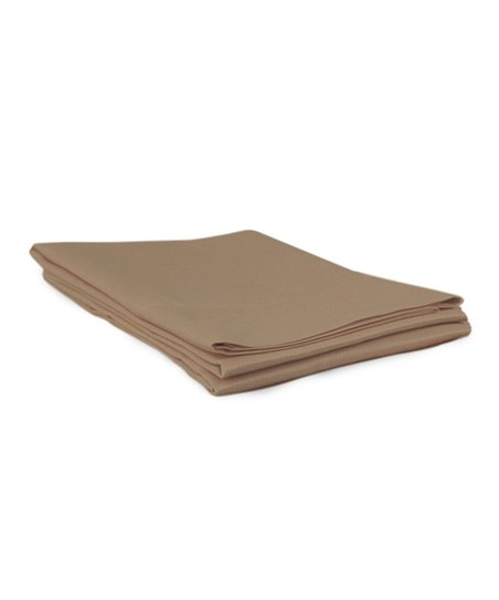 Taupe Sateen Pillowcase - Set of Two