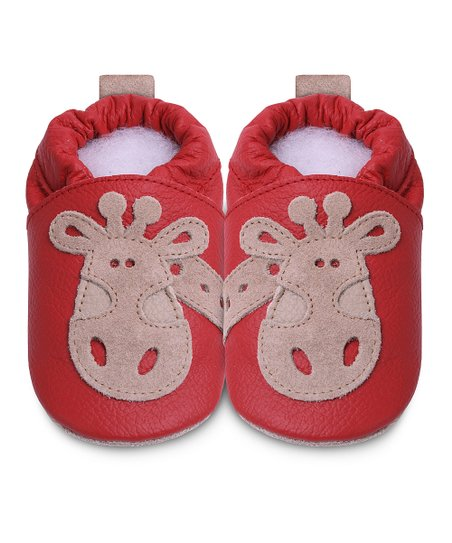 Red Giraffe Bootie