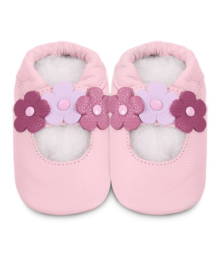 Pink Triple Flower Bootie