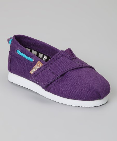 Purple Voyage Slip-On Boat Shoe