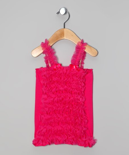 Pink Ruffle Top - Toddler & Girls