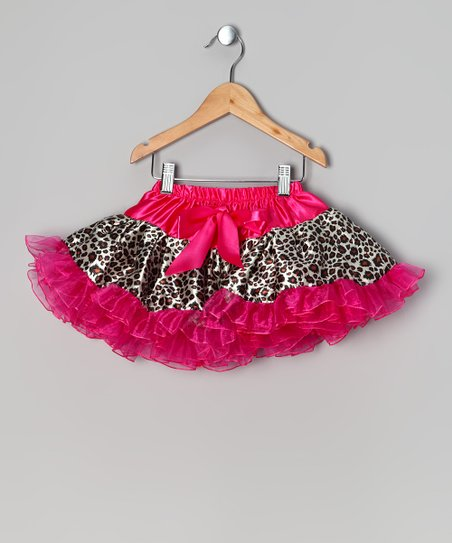 Pink & Brown Cheetah Pettiskirt - Infant, Toddler & Girls