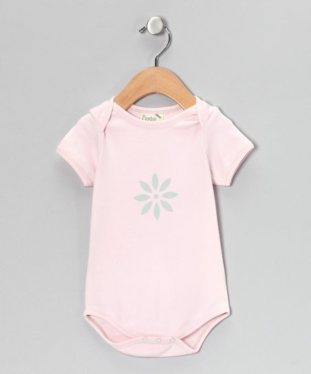 Petal Bloom Organic Bodysuit - Infant