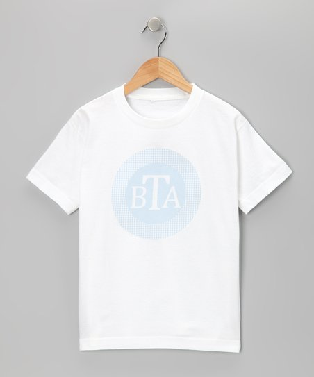 Swag Blue Monogram Gingham Tee - Infant, Toddler &amp; Boys