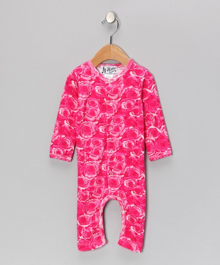 Pink Rose Playsuit - Infant