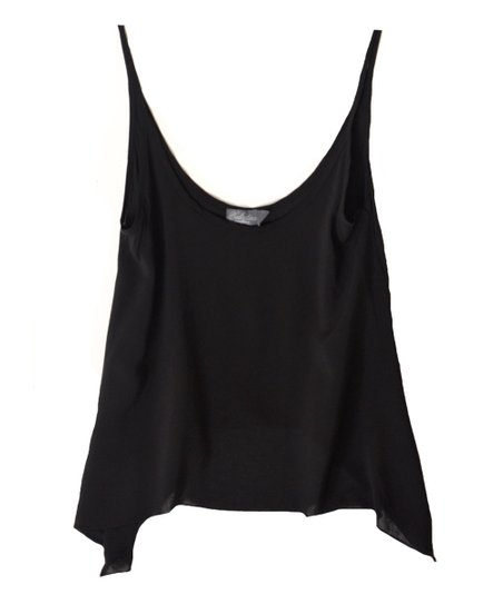 Black Swing Sidetail Camisole