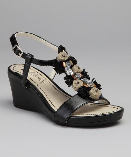 Black Treasure Wedge