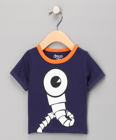 Navy Periscope Tee - Infant & Toddler