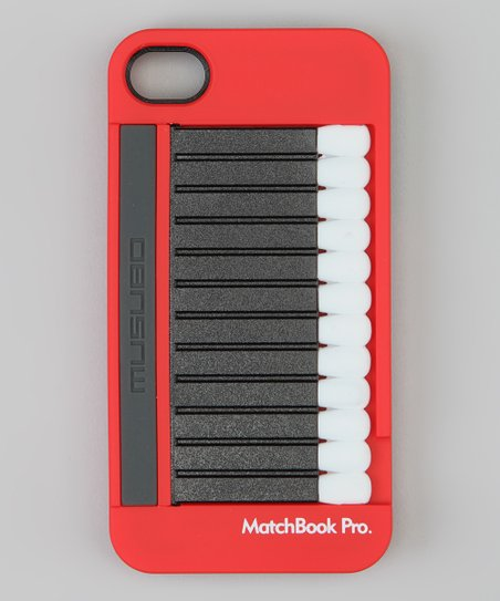 Red Matchbook Pro Case for iPhone 4S
