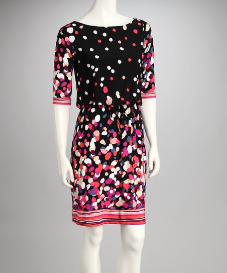 Black Speckled Dress