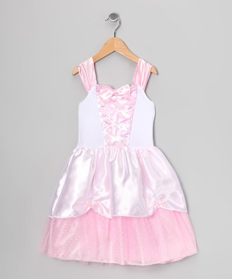 Light Pink Sequin Corset Dress - Toddler & Girls