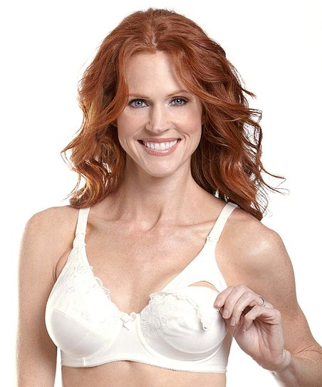 Ivory Lace Nursing Bra - Women & Plus