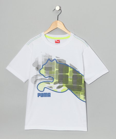 White Pixel Tee - Toddler & Boys