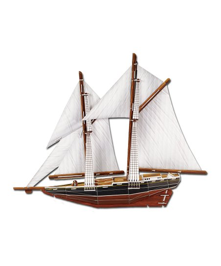 Bluenose Ship 3-D Puzzle