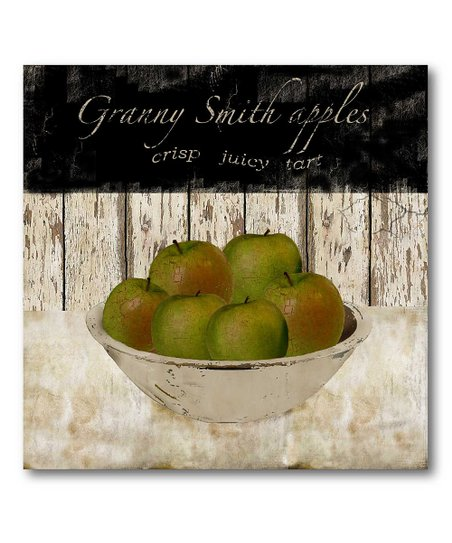 Granny Smith Apples Canvas Wall Art