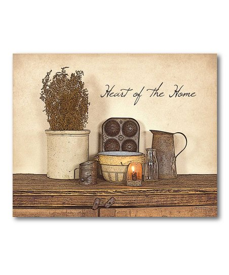 'Heart of the Home' Canvas Wall Art