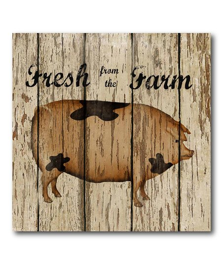 'Fresh from the Farm' Canvas Wall Art