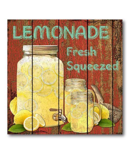 &#039;Lemonade&#039; Canvas Wall Art